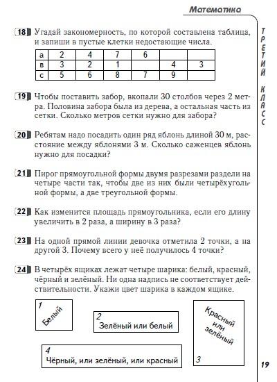 олимпиадные задания по литературному чтению 2-3 класс
